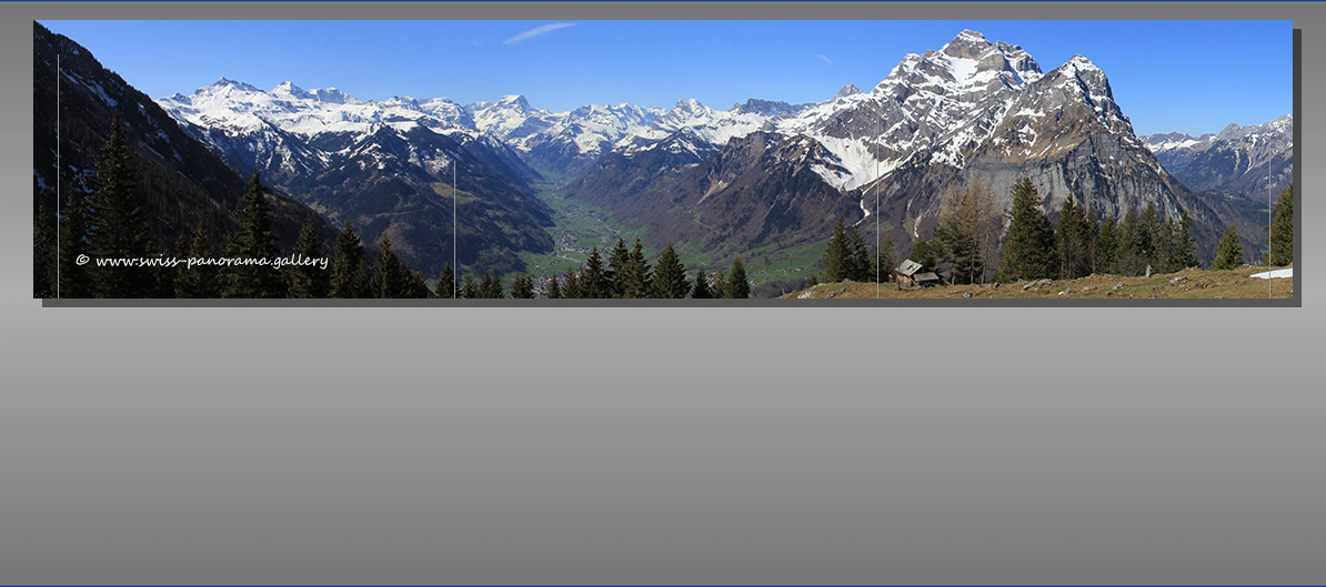 4th slide image Augsten Glarus Panorama