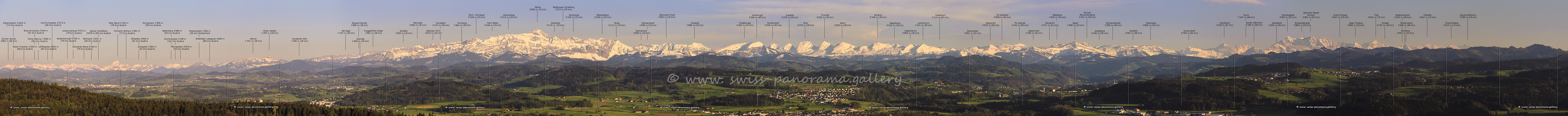 Switzerland panorama Wiler Turm